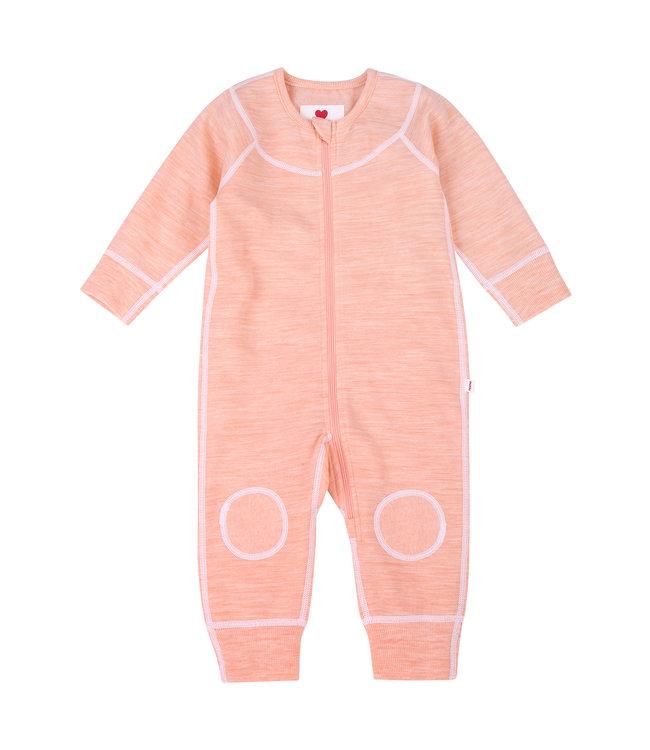 Reima Baby Strickoverall Lauha powder pink