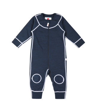 Reima Baby Strickoverall Lauha navy
