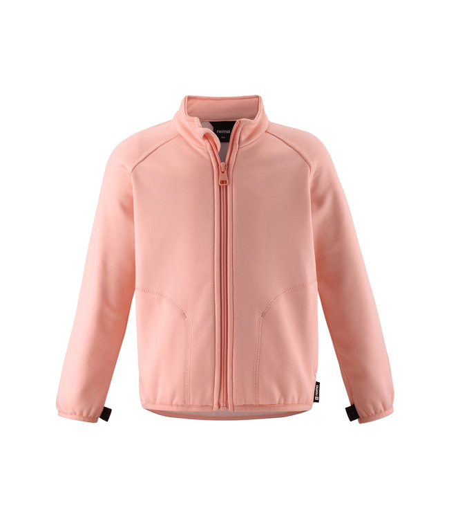 Reima Kinder Fleecejacke Toimiva powder pink