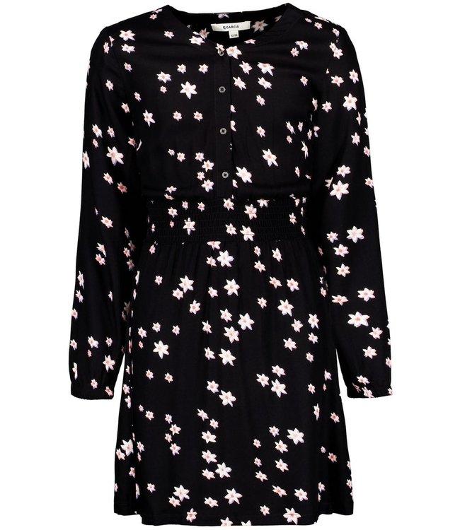 Garcia Mädchen Kleid mit Blumenprint