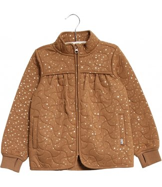 Wheat Mädchen Thermo Jacke Thilde caramel
