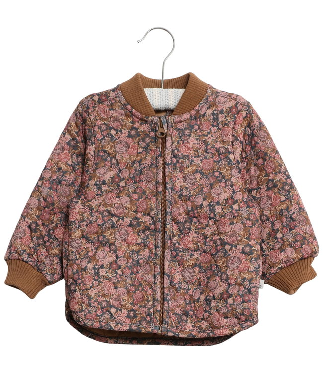 Wheat Kleinkinder Thermo Jacke Loui flowers