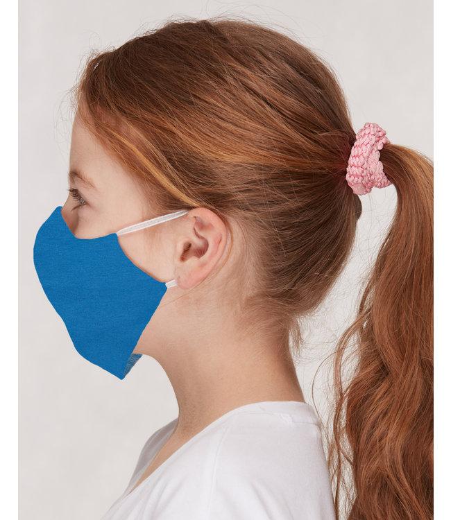 Loud and Proud 3 Stk. Kinder Mund- und Nasenmaske uni cobalt