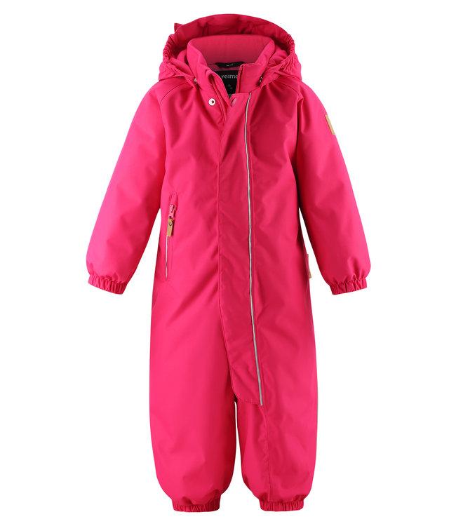 Reima -tec Kleinkinder Schneeanzug Puhuri Raspberry pink
