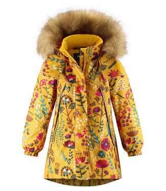 Reima tec Mädchen Winterjacke Muhvi Warm yellow