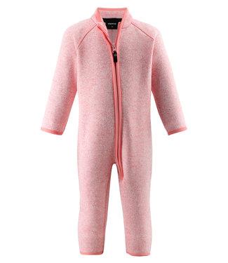 Reima Kleinkinder Fleeceoverall Tahti Bubblegum pink