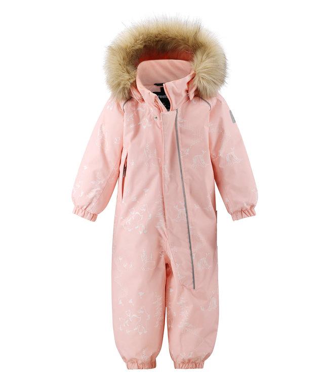 Reima tec Kleinkinder Schneeanzug Lappi Powder pink