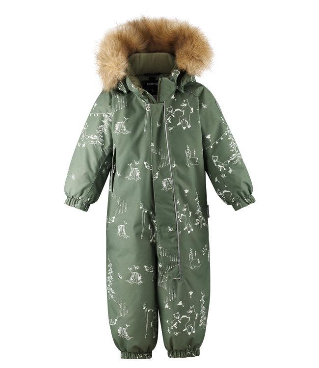 Reima tec Kleinkinder Schneeanzug Lappi Greyish green