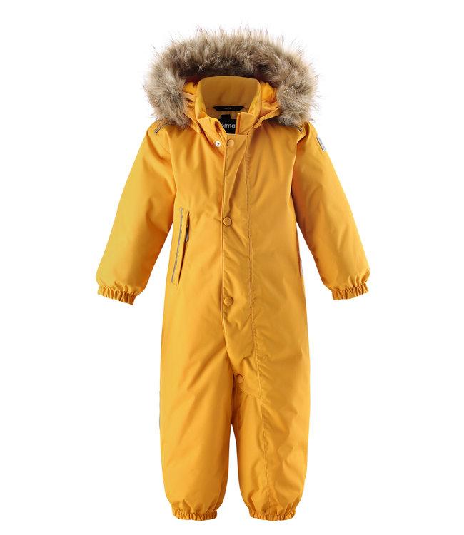 Reima -tec Kleinkinder Schneeanzug Gotland Warm yellow