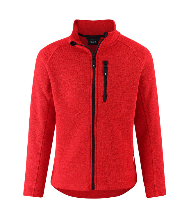 Reima Kinder Fleecejacke Micoua Tomato red
