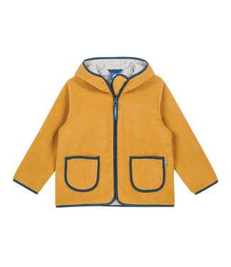 Finkid TONTTU Kinder Fleecejacke harvest gold/denim