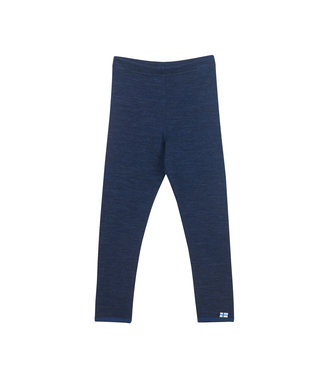 Finkid Leikki Wool Leggings navy/denim