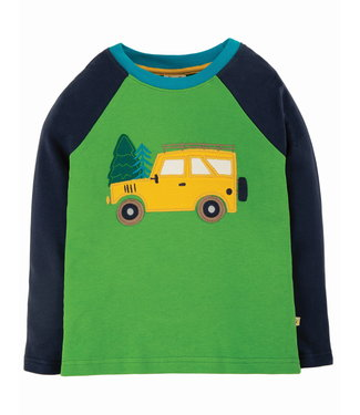 Frugi Jungen Shirt green Truck