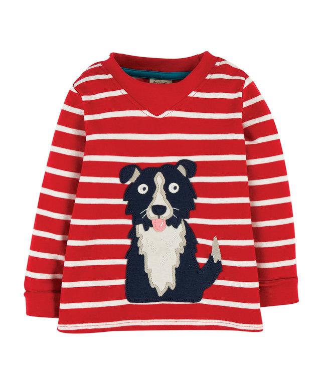 Frugi Kleinkinder Shirt Hund