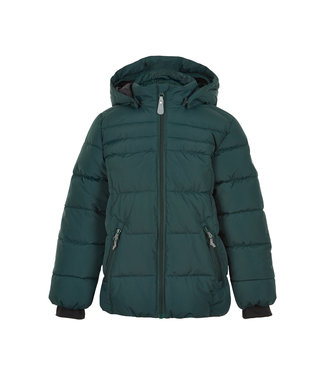 Color Kids Jungen Winterjacke green grables