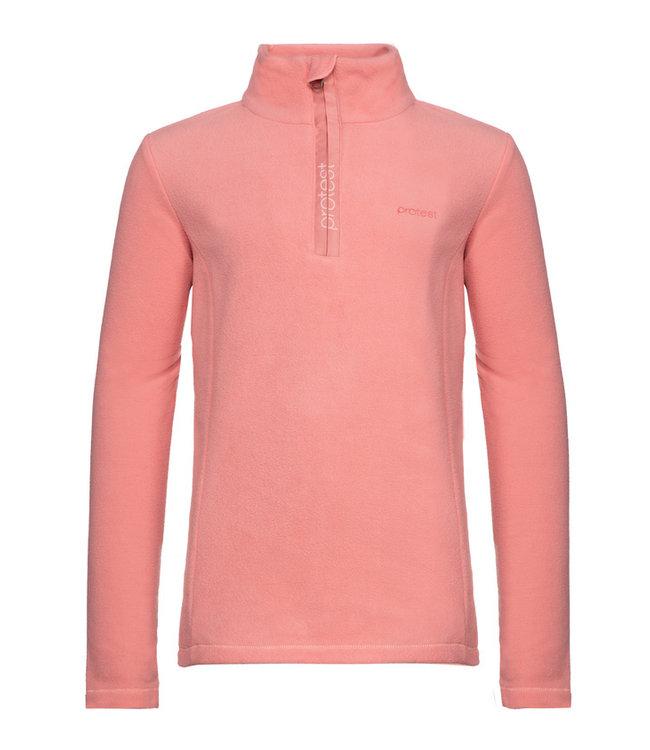 Protest Mädchen Fleece-Pullover MUTEY Think Pink