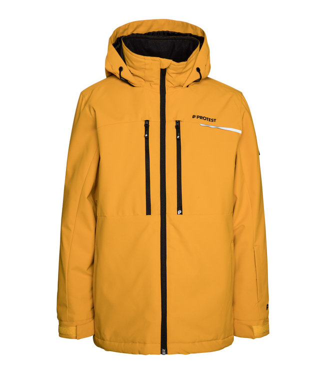 Protest Jungen Skijacke FLYNN JR Dark Yellow