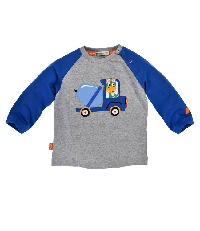 Bondi Kleinkinder langarm Shirt geringelt ´Laster´
