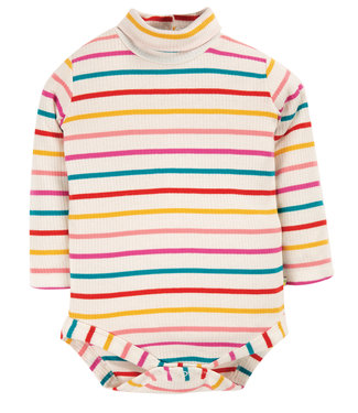 Frugi Baby Body Ginger Rainbow