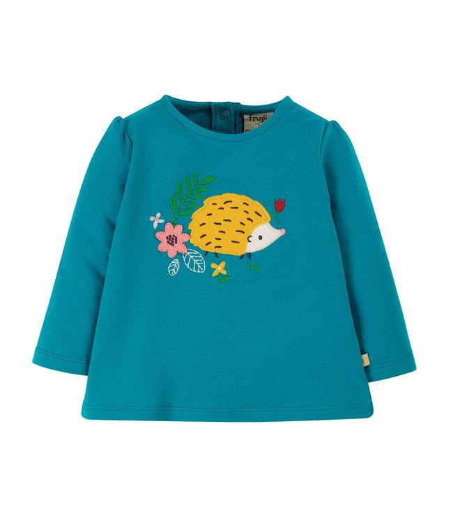 Frugi Kleinkinder Shirt Alana Igel