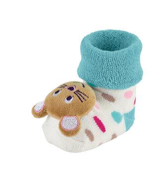 Sterntaler Baby Rasselsöckchen Maus