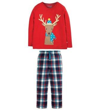Frugi Kinder Pyjama Renntier