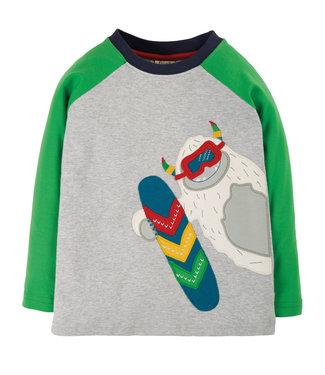 Frugi Jungen Shirt Alfie Yeti
