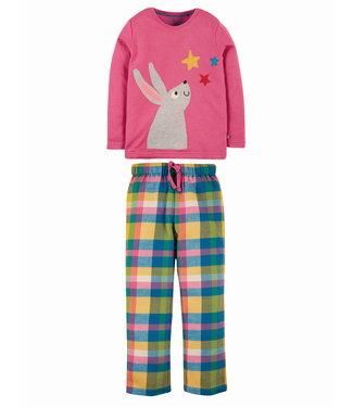 Frugi Mädchen Pyjama Kaninchen