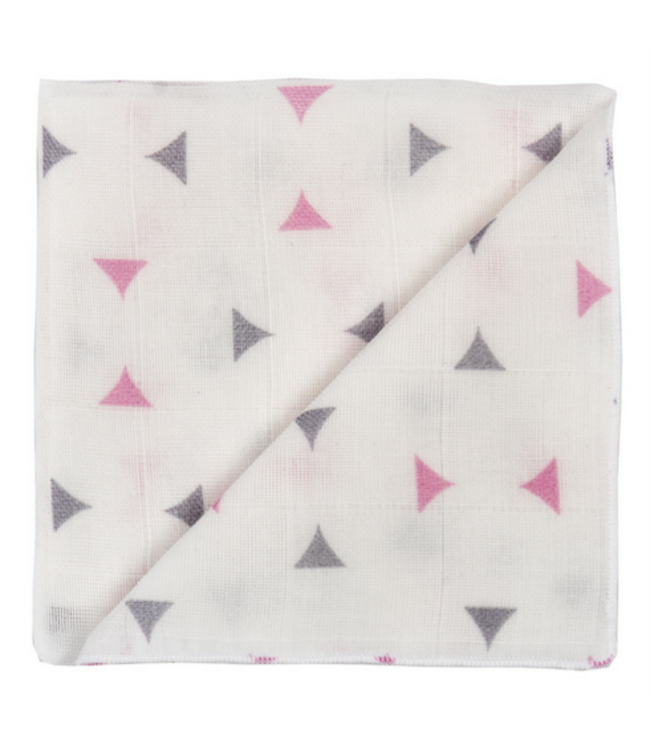Zewi bébé-jou Baby-Gaze Dreieck rosa