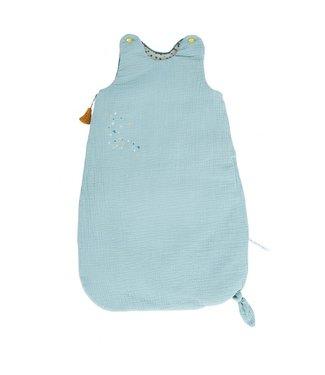 Moulin Roty Baby Schlafsack blau 70cm