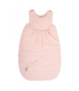Moulin Roty Baby Schlafsack rosa 70cm
