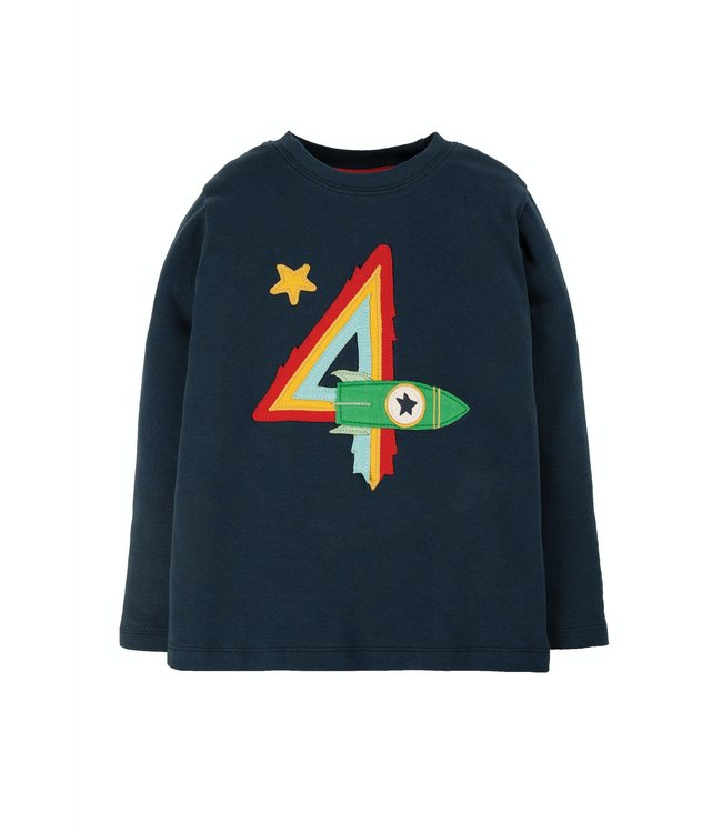 Frugi Kleinkinder Shirt Magic Number 4 Jahre
