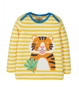 Frugi Kleinkinder Shirt Bobby Tiger