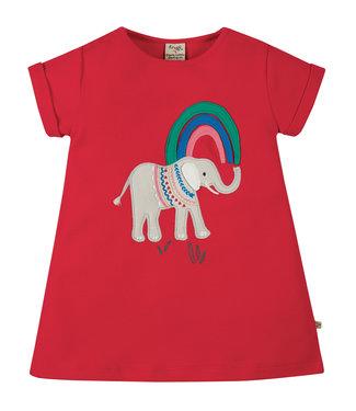 Frugi Mädchen T-Shirt Sophie Elefant