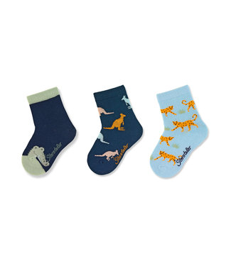 Sterntaler Socken 3er Pack Zootiere
