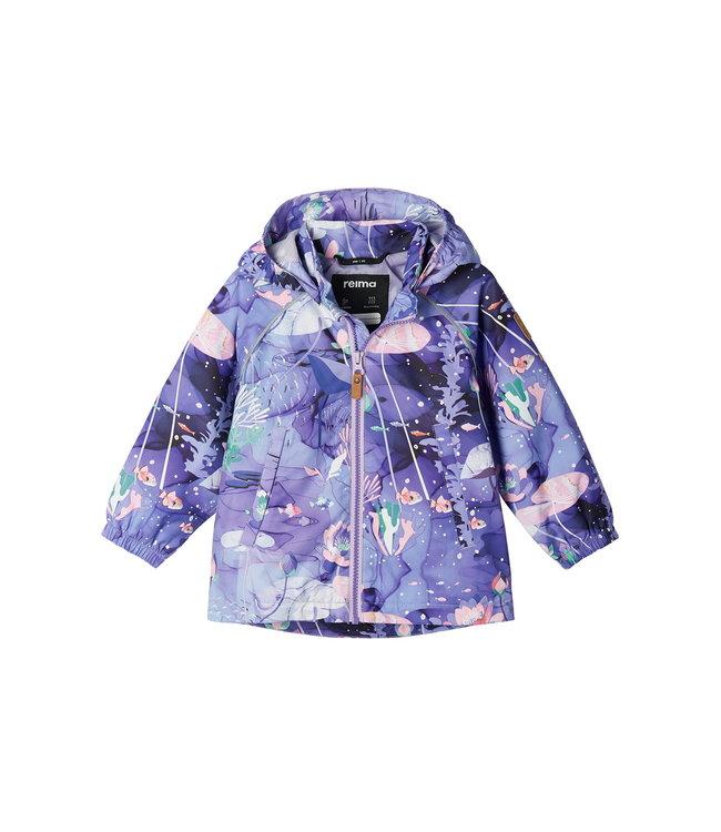Reima -tec Kleinkinder Regenjacke Hete Light violet