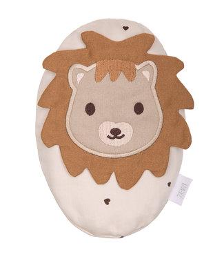 Zewi bébé-jou Traubenkernkissen Lion