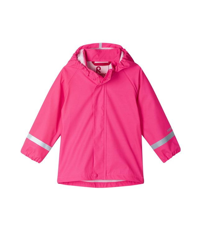 Reima Kinder Regenjacke Lampi candy pink