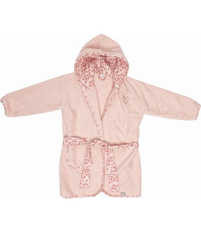 Zewi bébé-jou Bademantel pink Leopard