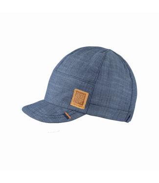 Pure Pure Kleinkinder Cap jeans-blau