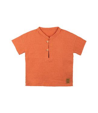 Pure Pure Kleinkinder T-Shirt papaya