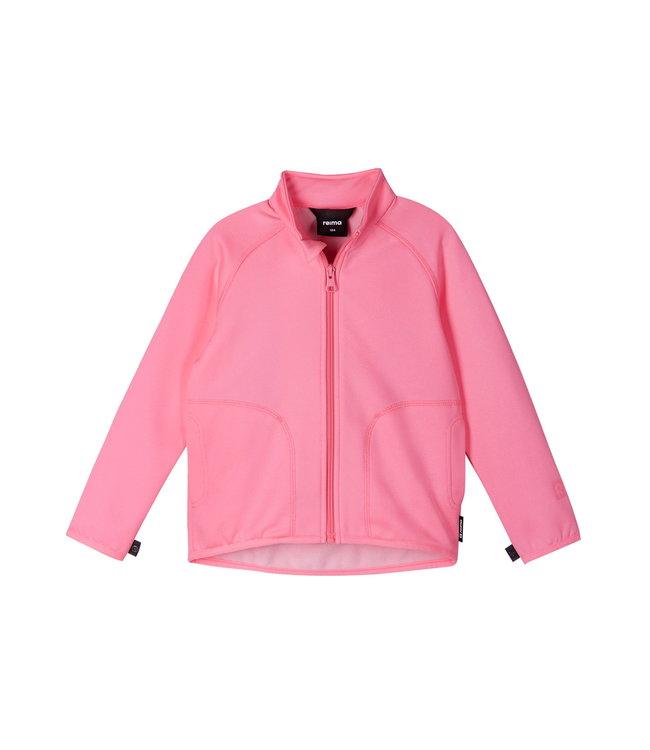 Reima Kinder Fleecejacke Toimiva Neon pink
