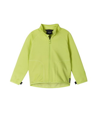 Reima Kinder Fleecejacke Toimiva Green citrus