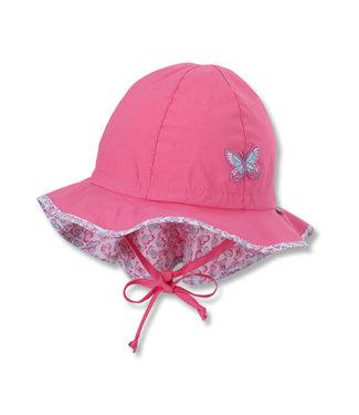 Sterntaler Mädchen Flapper Sonnenhut pink