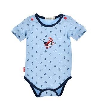 Bondi Baby Body kurzarm Ankerallover
