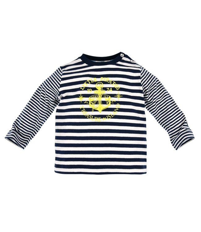 Bondi Kleinkinder langarm Shirt geringelt Anker