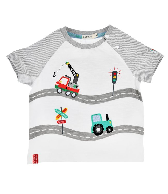 Bondi Kleinkinder T-Shirt Fahrzeuge