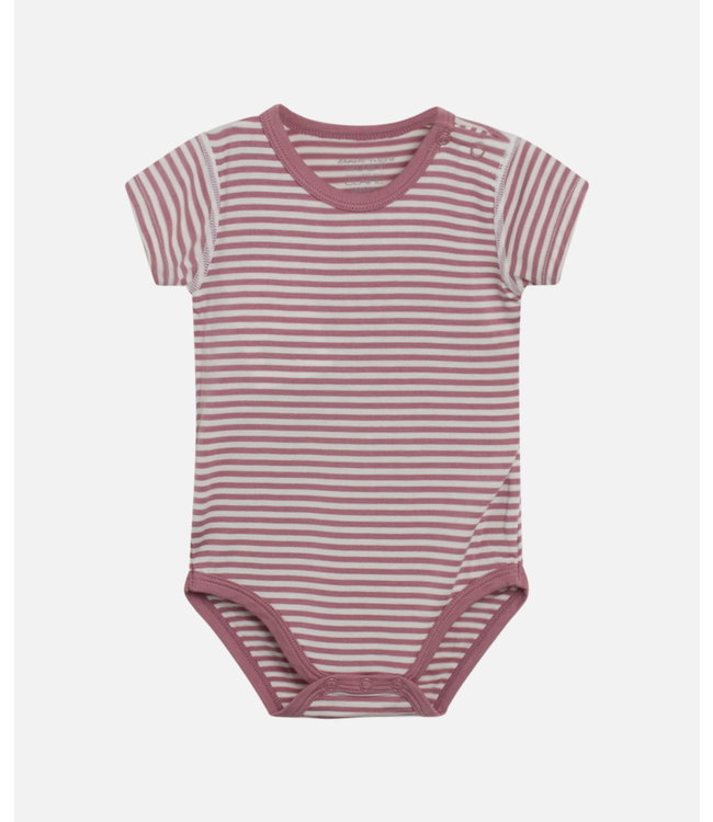Hust & Claire Baby Body Bue plum
