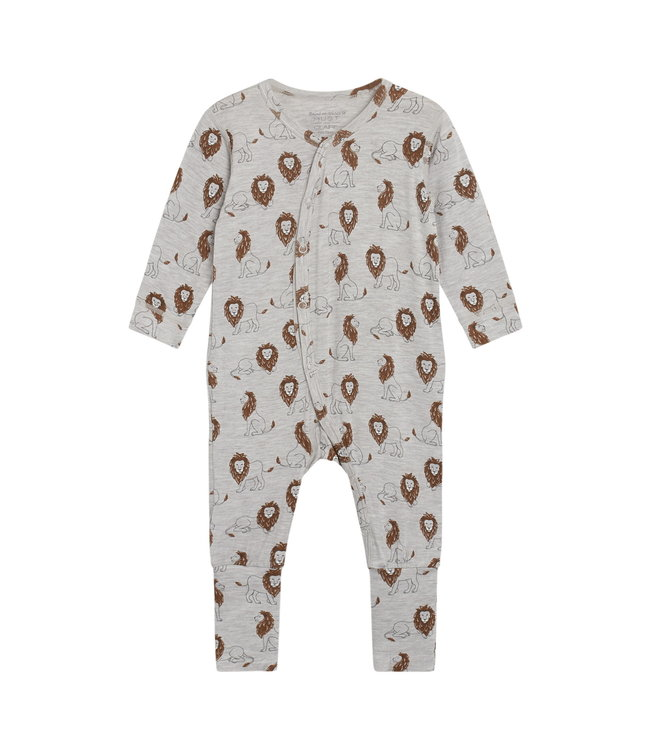 Hust & Claire Baby Strampler Mulle wheat