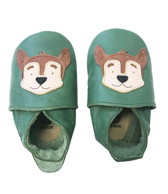 Bobux Lederfinkli Hund grün